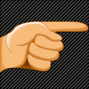 index-hand